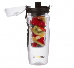 The Brimma Fruit Infuser Water bottle is an excellent way for you to drink more water - in a tasty way!