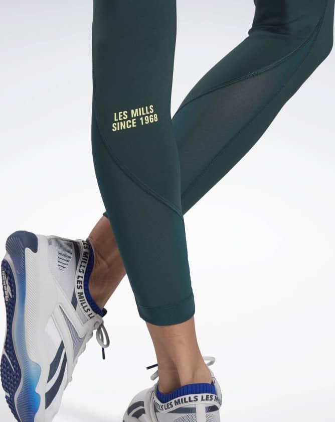 Reebok Les Mills Lux Perform Leggings bottom close up