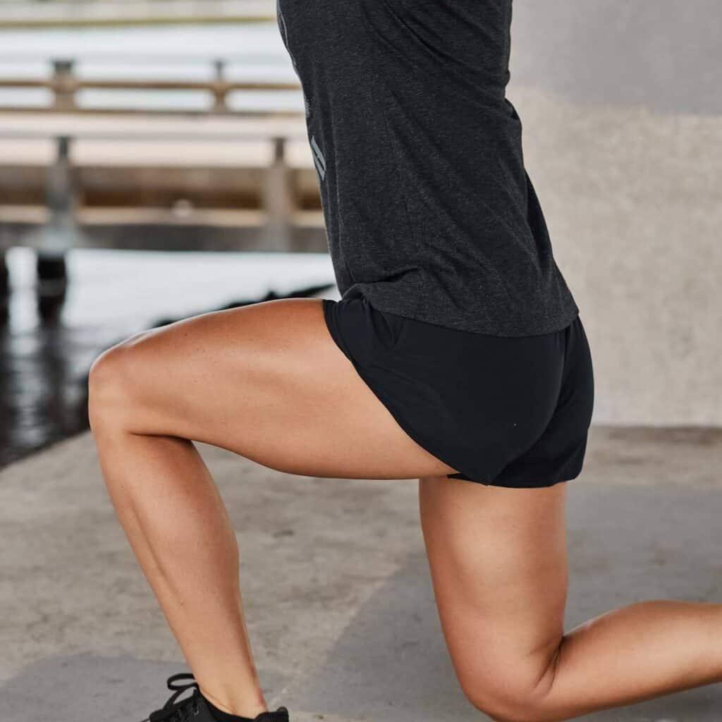 GORUCK Women's American Training Shorts women's lunging