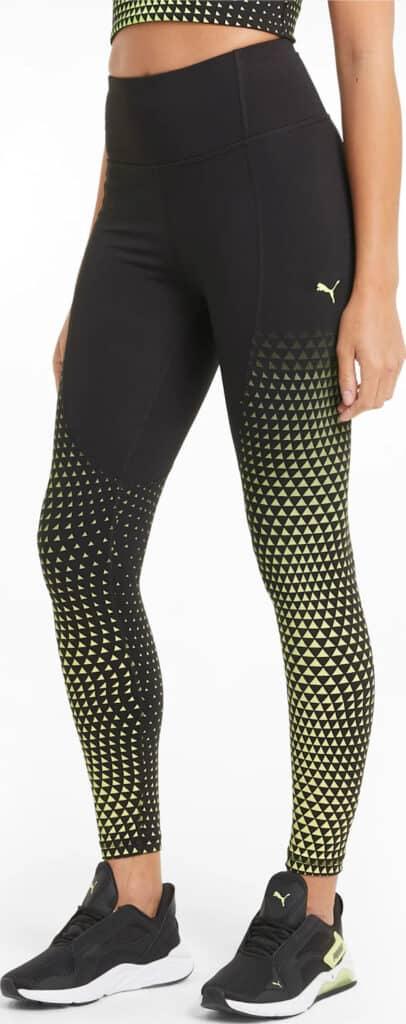 PUMA Digital Womens High Waist 7 8 Training Leggings full worn