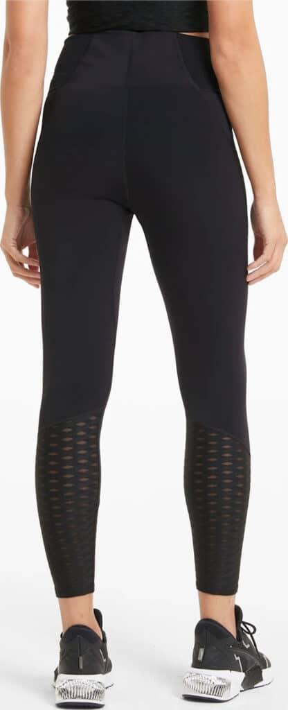 PUMA Flawless Womens High Waist 7 8 Training Leggings worn back