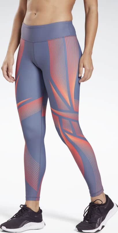 Reebok Lux Bold 2 High Rise Leggings worn front full view