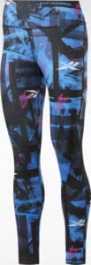 Reebok Meet You There Printed Leggings front full view