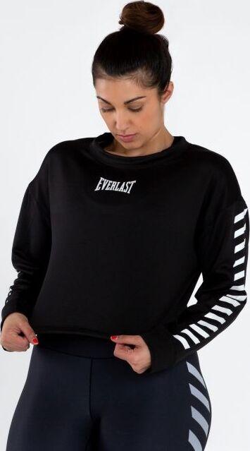 Everlast Womens Colorplay Crop Sweatshirt black