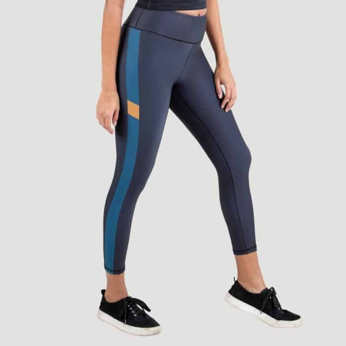 Everlast Womens Colorplay Cropped Legging blue
