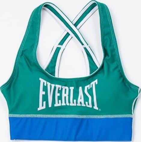 Everlast Womens Colorplay Sports Bra green blue