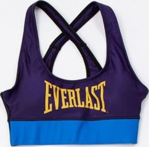 Everlast Womens Colorplay Sports Bra purple blue