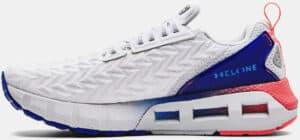 Mens UA HOVR Mega 2 Clone Running Shoes White Royal left side