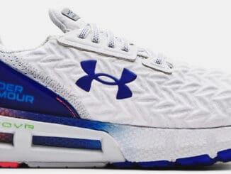 Mens UA HOVR Mega 2 Clone Running Shoes White Royal right side