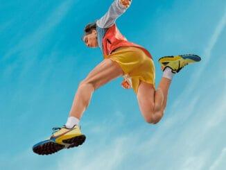 Nike Air Zoom Terra Kiger 7 jumping