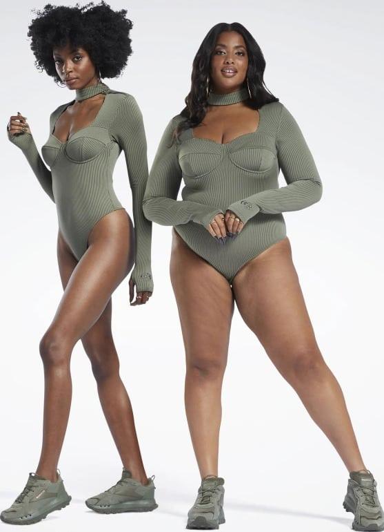 Reebok Cardi B Bodysuit Plus Size both sizes