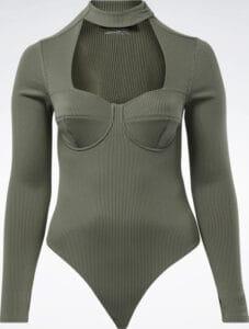Reebok Cardi B Bodysuit Plus Size full front