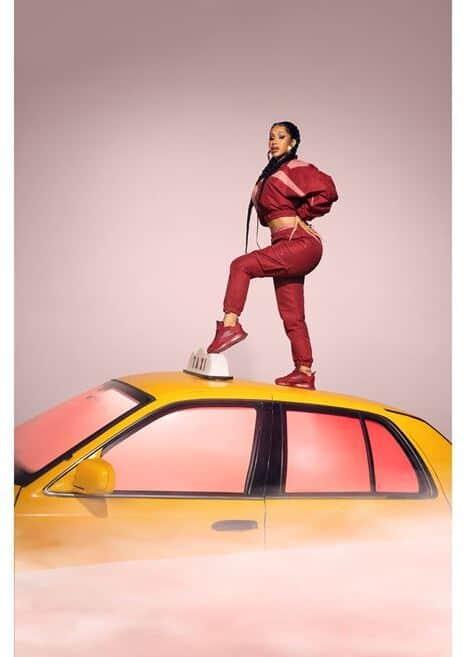 Reebok Cardi B Classic Leather Womens Shoes cardi 3