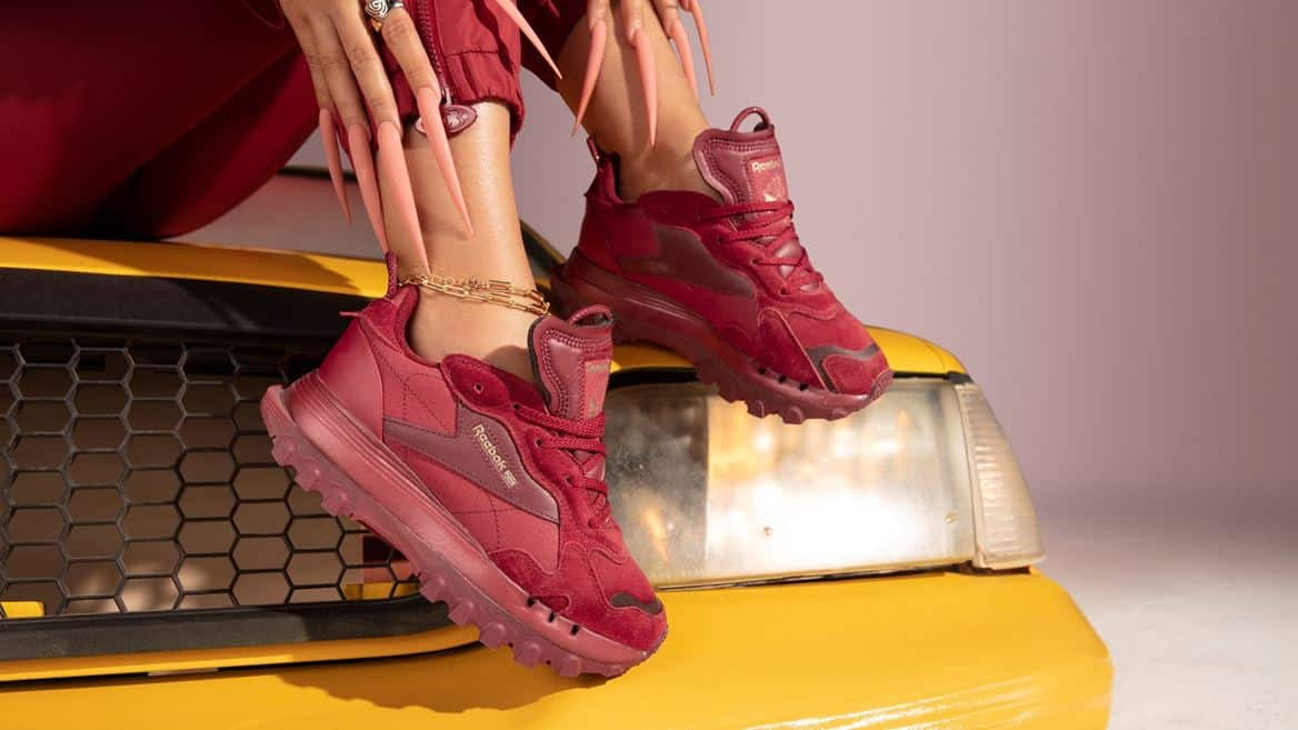 Reebok Cardi B Classic Leather Womens Shoes cardi 4