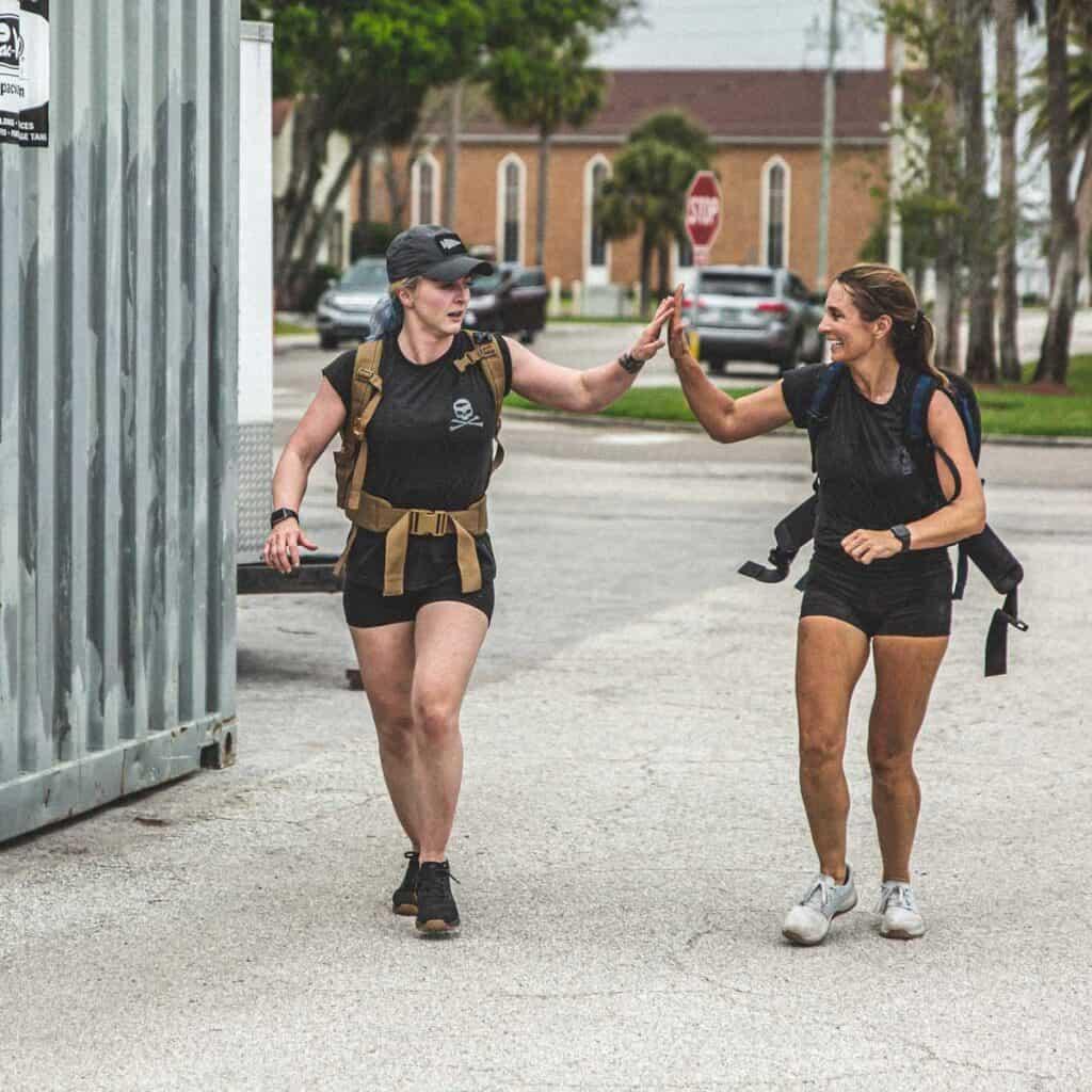 GORUCK Womens Indestructible Squat Shorts high five