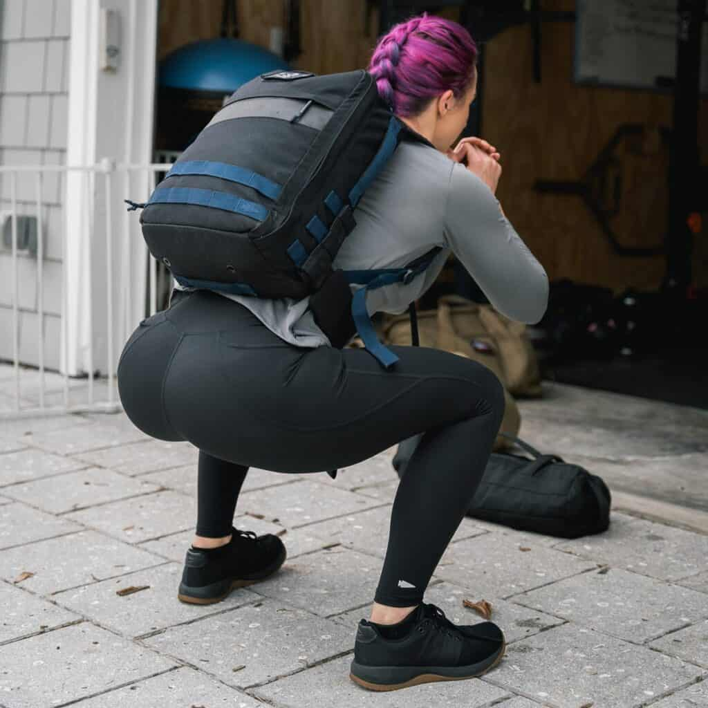 GORUCK Womens Indestructible Tough Leggings - Pockets squat